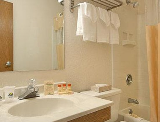 Days Inn Hornell NY: Bathroom