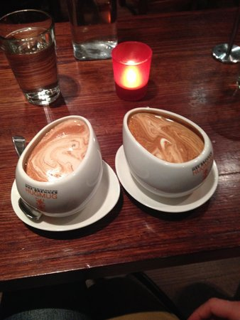 Max Brenner Chocolate Bar: Hot Chocolates