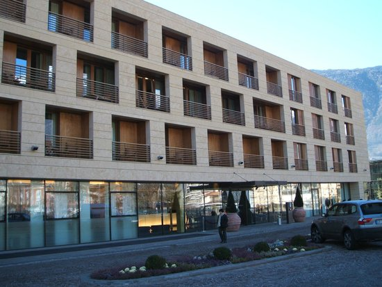 Hotel Terme Merano: vue extérieure