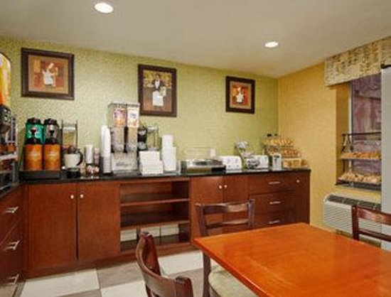Days Inn Long Island City: Breakfast Area