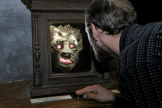 Prague Ghosts and Legends Museum: See yourself as a prague ghost