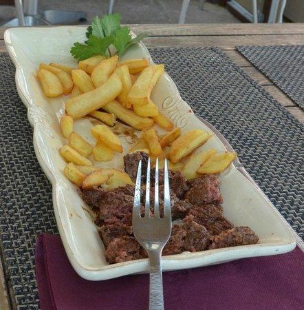 Loulou la malice: Steak frites pour enfants