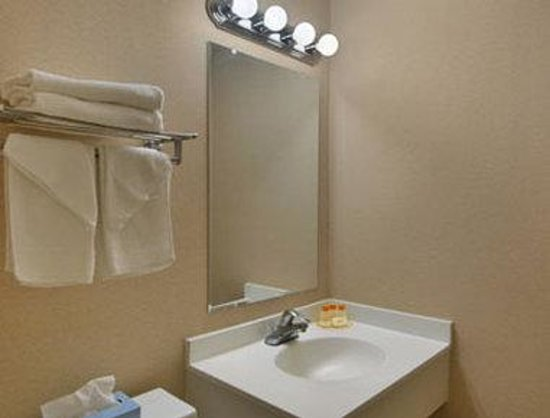Days Inn by Wyndham Auburn/Finger Lakes Region: Bathroom