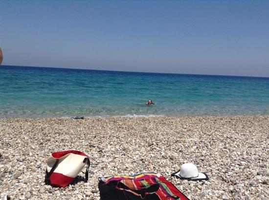 Ino Village Hotel: Roditses beach