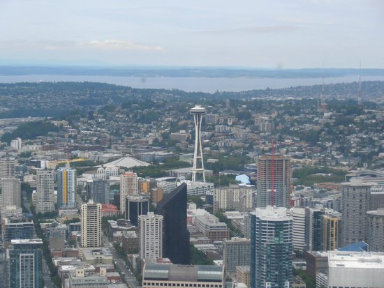 Sky View Observatory : View of Space Needle
