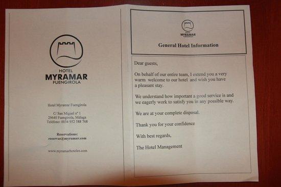 Myramar Fuengirola Hotel: beschrijving hotel