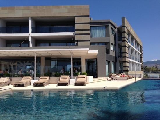 Aqua Blu Boutique Hotel + Spa : Pool area