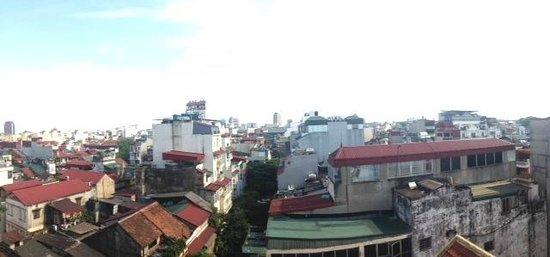 Hanoi Legacy Hotel - Bat Su: View from Terrace
