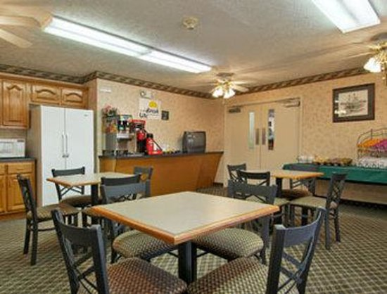 Days Inn Lexington: For our guests we have a free continental breakfast available daily