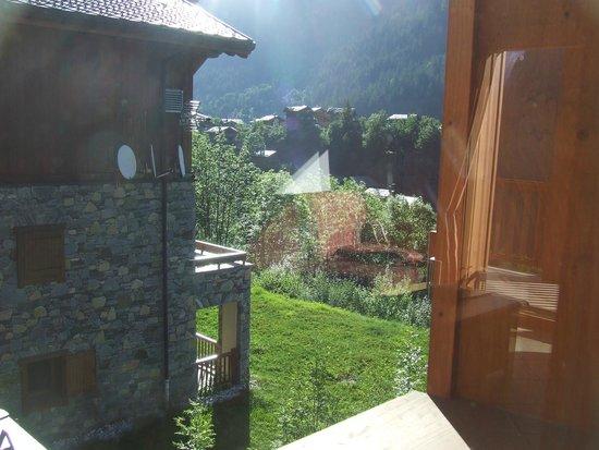 CGH Résidences & Spas Les Alpages de Champagny : Vue cuisine