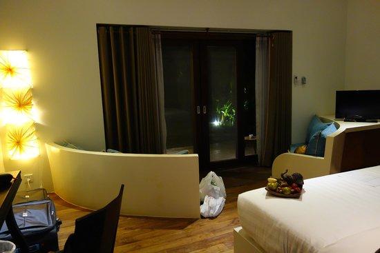 Navutu Dreams Resort & Wellness Retreat: view from bedroom
