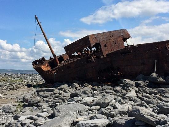 Plassey Wreck: approaching the Plassey