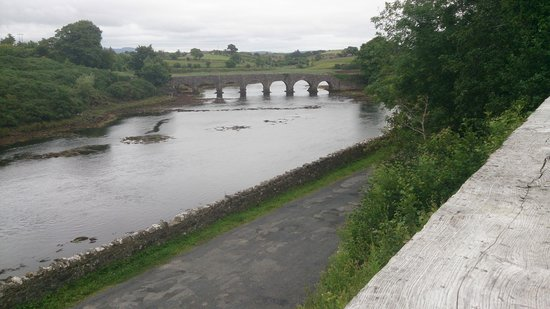 The Great Western Greenway: As seen from the Greenway, Mayo.