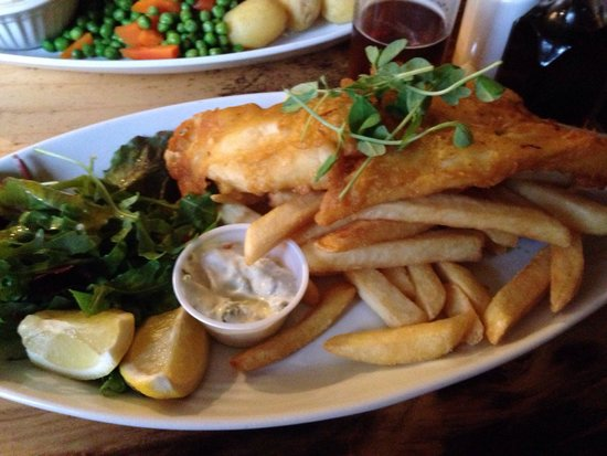 The Lock Inn: Best fish & chips ever tasted.