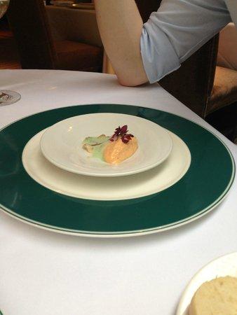 The Manor House Hotel : Tomato amuse-bouche