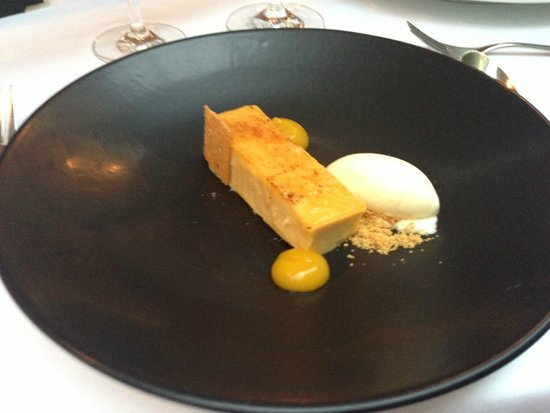 The Manor House Hotel: Malt dessert - the perfect finish