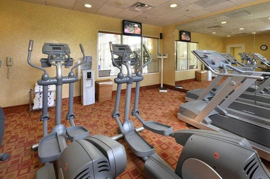 Holiday Inn Raleigh Durham Airport-Morrisville: Stay fit while on the road with our on-site fitness center!