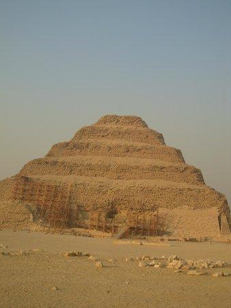 Saqqara (Sakkara) Pyramids: piramide escalonada2