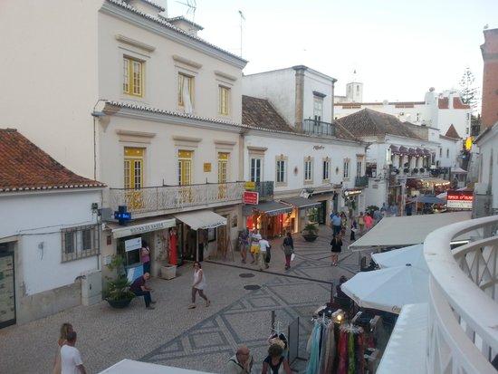 Restaurante Bailote: View from balcony