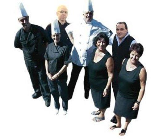 Ristorante La Pineta : equipe sala e cucina