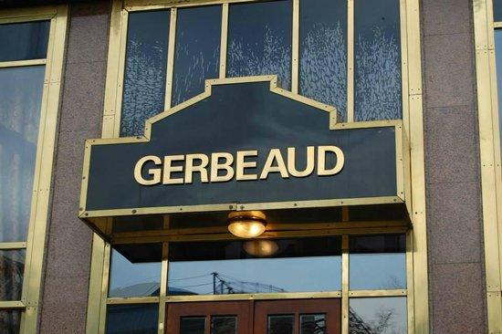 Gerbeaud : Letrero