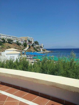 Mitsis Norida Beach Hotel: View from pool bar