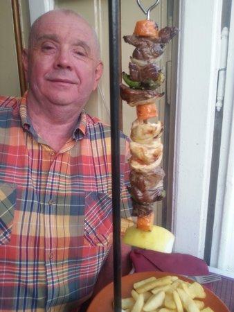 Restaurant Atrium : Hanging kebab