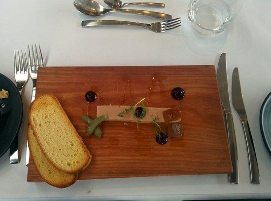Knee Deep Winery Restaurant: Chicken liver parfait