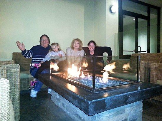 Sheraton Fisherman's Wharf Hotel: Firepits
