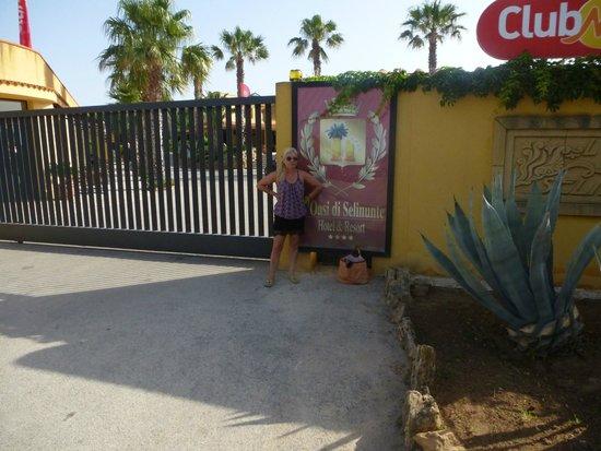 L'Oasi Di Selinunte - Club Marmara Sicilia : Entrée hotel