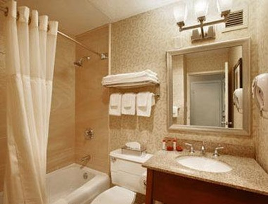 Ramada Ellsworth: Bathroom