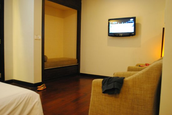 Dekuta Hotel : nice place to watch tv