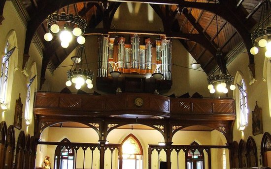 St. Patrick's Cathedral : Old Pipe Organ