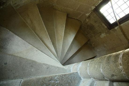 Château de Langeais : escalier