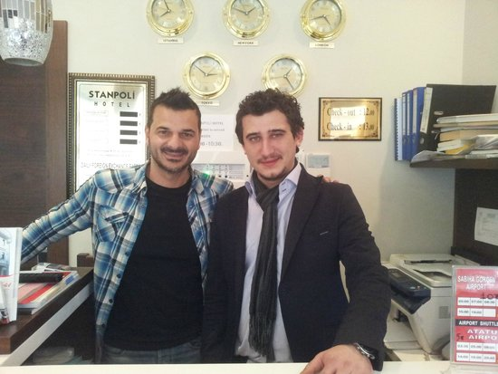 Stanpoli Hostel : Dimitris & Ilkay