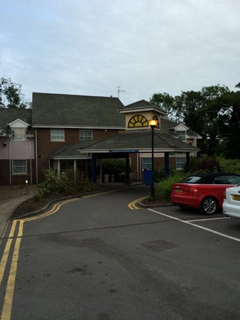Holiday Inn Express York : The entrance to the hotel.