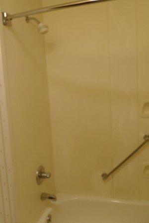 Comfort Suites: Dusche