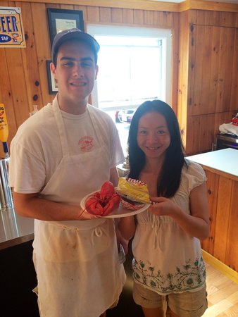 Clam Shack : Lobster to go is to die for!
