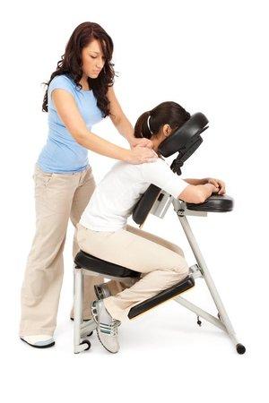 Massage Africa: chair massage