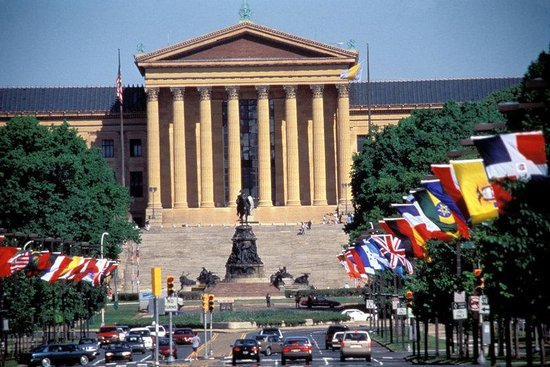 Holiday Inn Express Philadelphia-Midtown: The Art Museum of Philadelphia, a must see! A 10 minute cab ride.