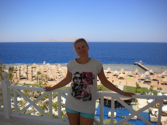 Sheraton Sharm Hotel, Resort, Villas & Spa: Sea!!