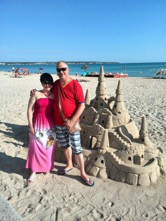 Hotel Helios Mallorca: замок из песка