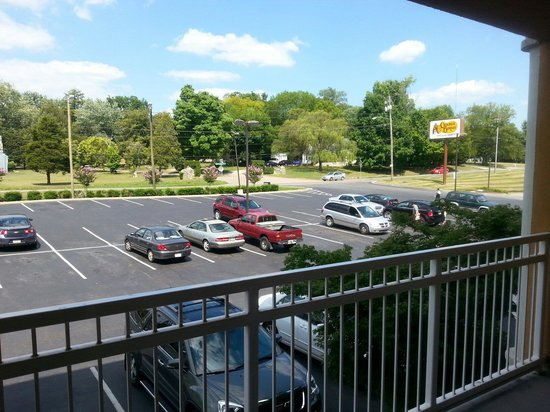 MainStay Suites Knoxville: View from the Balcony.