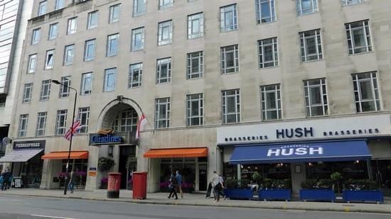 Citadines Holborn-Covent Garden London: Hotel entrance