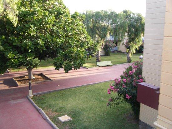 Hotel Palia Don Pedro: Vue de la terrasse de la chambre