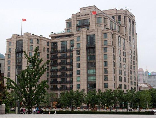 The Peninsula Shanghai : The Peninsula from the Bund