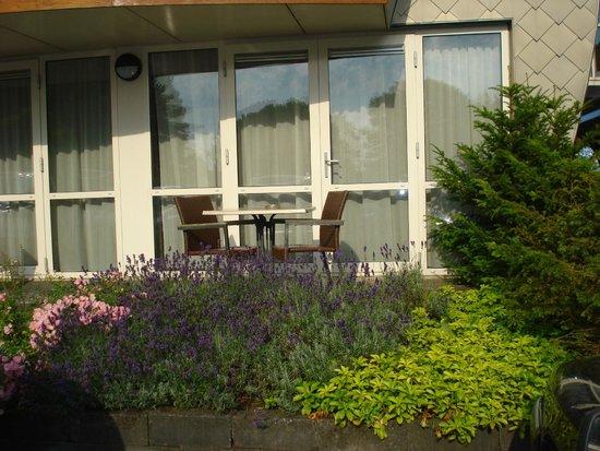 Hotel Restaurant Ie-Sicht : kamer met terras
