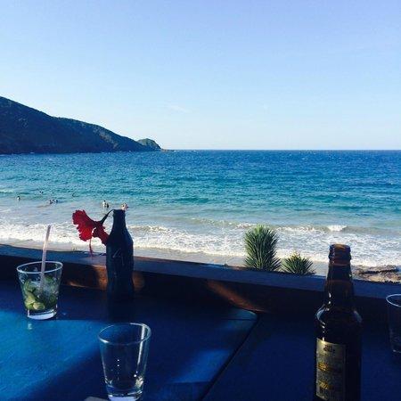 Rocka Beach Lounge & Restaurant : La vue ;)