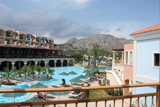 Lindos Imperial Resort & Spa: room vieuw