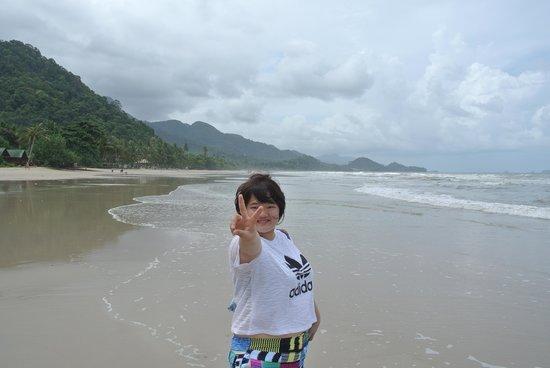 Rock Sand: hotel beach